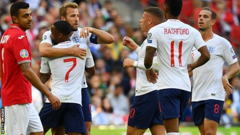 Euro 2020: Kane nets hat-trick as England romp past Bulgaria
