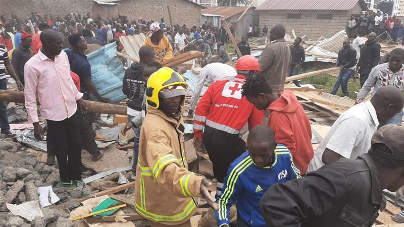 Collapsed classroom kills seven children, injures 57 in Kenya