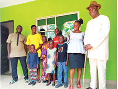 A'Ibom commissioner gives homeless family four-bedroom house