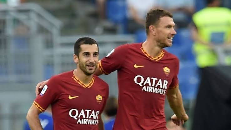Serie A: Dzeko wants Mkhitaryan at Roma long-term