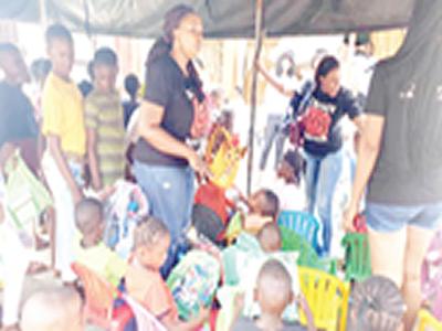 Group distributes school materials to indigent children in Lagos