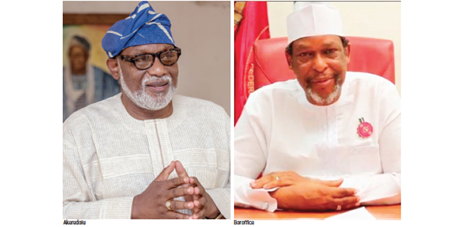 APC chieftains battling for Akeredolu's job