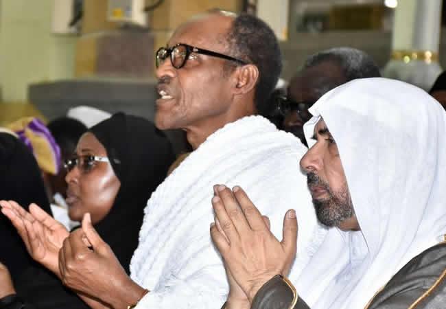 Buhari arrives Mecca for Umrah