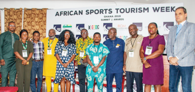 Colours and excitement of African Sports Tourism Ghana 2019