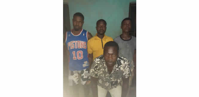 Four wanted cultists nabbed in Ogun