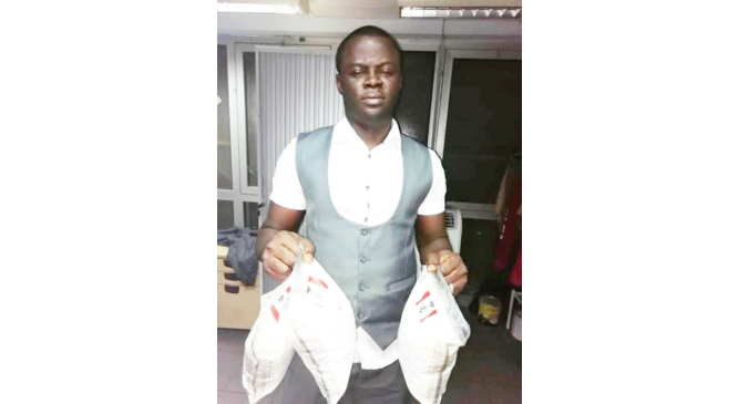 'I smuggled N100m cocaine because of my traditional wedding'