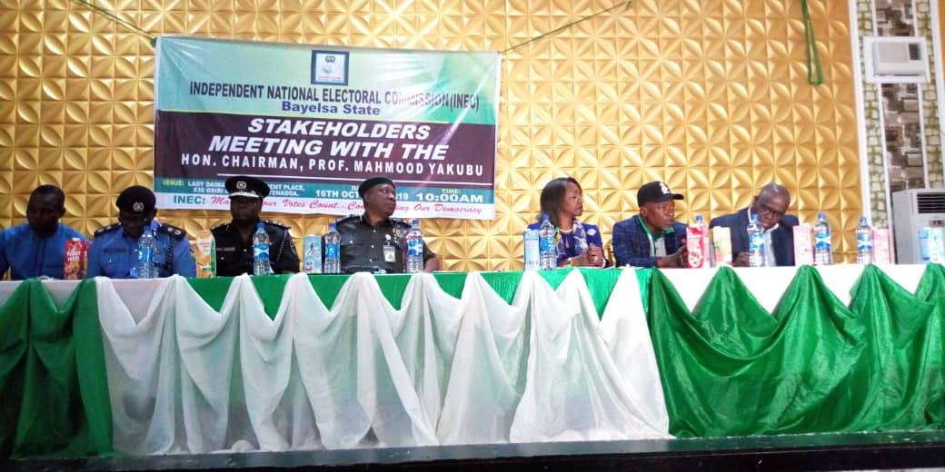 Bayelsa poll: Stop attacking my officials, INEC Chairman warns