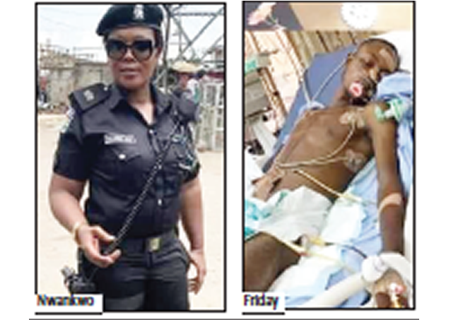 Nigerians celebrate female DPO for rescuing robbery victim