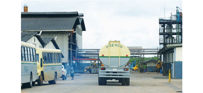 Presco Oil hurt by dwindling earnings