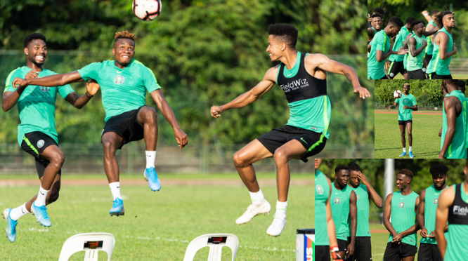Friendly: Sanwo-Olu, Dare charge Eagles to beat Brazil