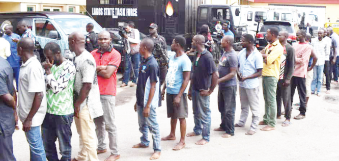 Lagos impounds 4,477 motorcycles, 18 vehicles