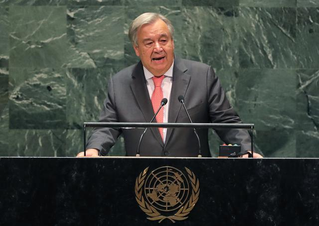 UN chief warns may not have enough money to pay staff next month