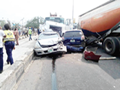Eight die in Adamawa auto crash