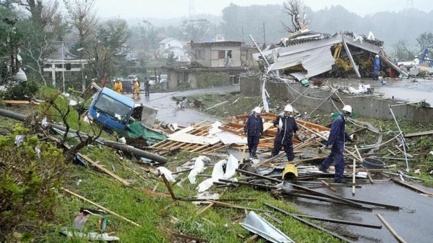 Japan typhoon death toll climbs to 74, rescuers search for missing people