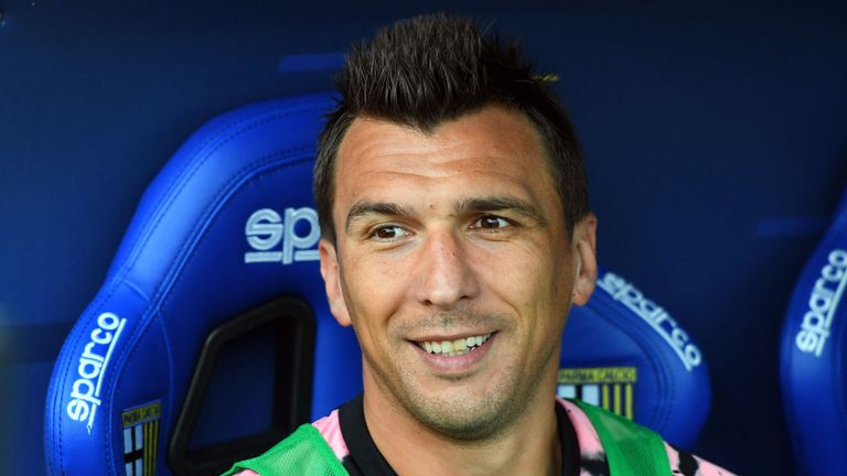 Mandzukic: Man Utd target not training with Juve
