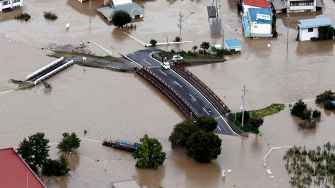 Hunt for missing continues in flooded, battered Japan as typhoon death toll rises