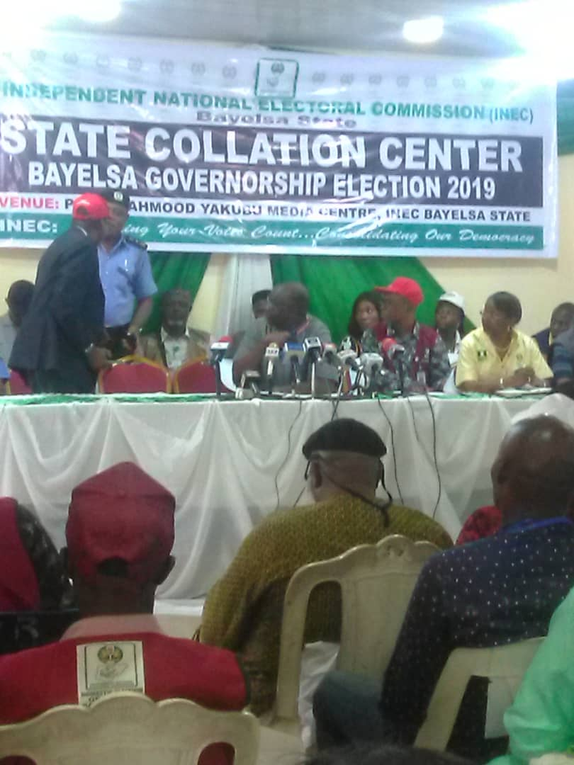 Bayelsa decides: Collation begins with Sagabama results