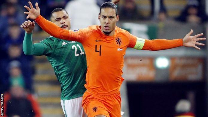 Euro 2020: van Dijk to miss Holland's final qualifier