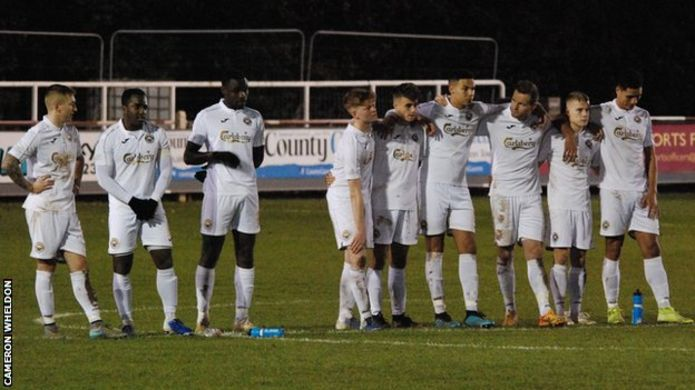 Non-league clubs equal penalty shootout record with 34 spot-kicks