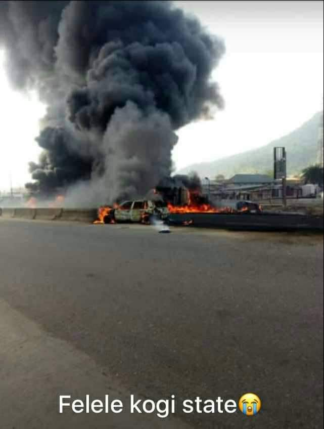 JUST IN: Tanker explosion kills 5 in Kogi