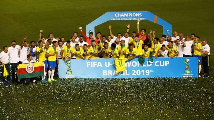 Brazil rallies to win U-17 World Cup