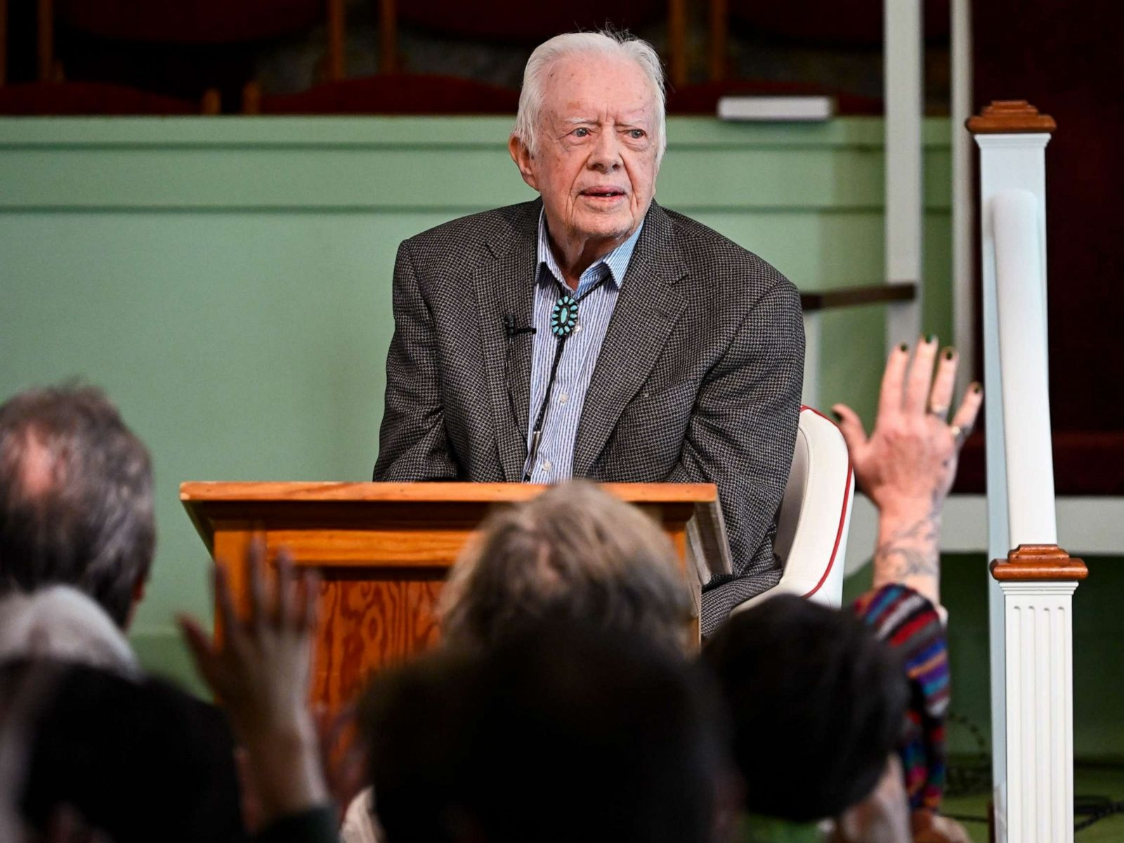 Ex US President Jimmy Carter admitted to hospital for brain surgery