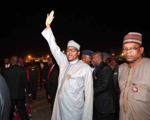 Buhari returns ahead of original date