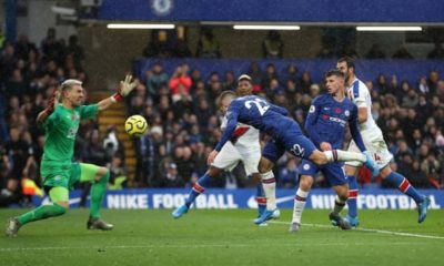 EPL: Chelsea up to second after Abraham, Pulisic sink Palace