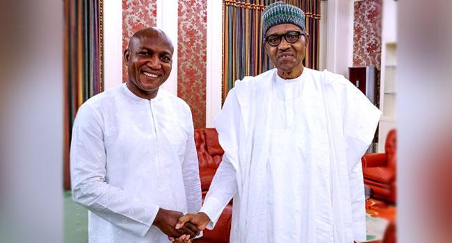 Buhari congratulates Lyon, condemns violence in Bayelsa