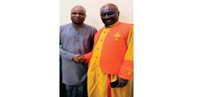 Archbishop commends Kyari for bursting high profile criminal cases