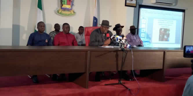 Bayelsa decides: Dickson rejects election result