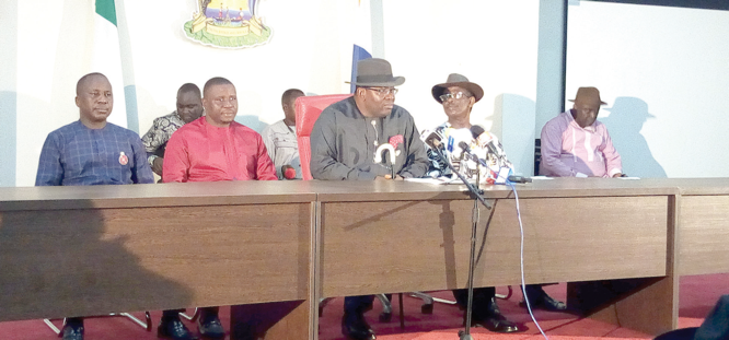 Bayelsa guber: Dickson tenders evidence of electoral fraud, violence