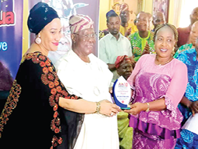 Bode George's day of honour in Lagos