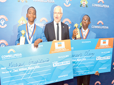 I love mathematics, science – Winner of Cowbellpedia TV show