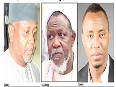 Dasuki, El-Zakzaky, Sowore chose to be kept in our custody – DSS