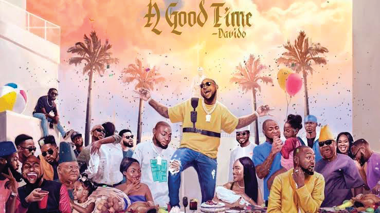 Davido unveils cover art for new album titled A Good Time