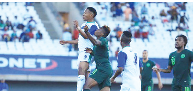 AFCON 2021 qualifiers: Eagles whip Lesotho 4-2