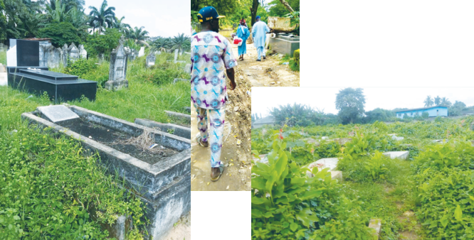 Eyesores called  Lagos public cemeteries