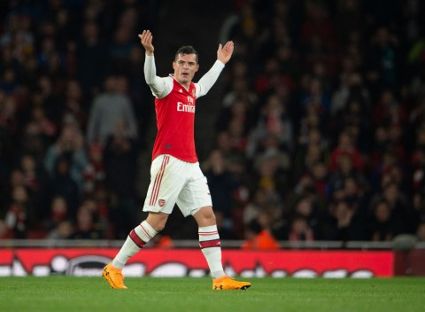 I want to leave, Granit Xhaka tells Arsenal