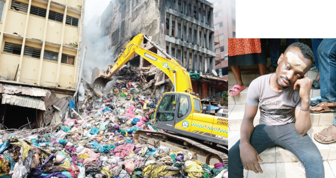I jumped into fire to salvage my N25m goods –Victim