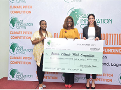 ICCDI, Bio-Stark Win SAGE Climate Pitch Competition