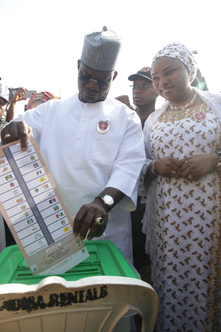 JUST IN: INEC declares Gov Bello winner of Kogi poll