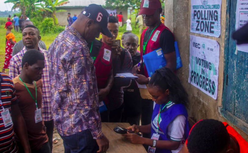 Kogi/Bayelsa decide: Voters, party agents commend peaceful process in Bayelsa
