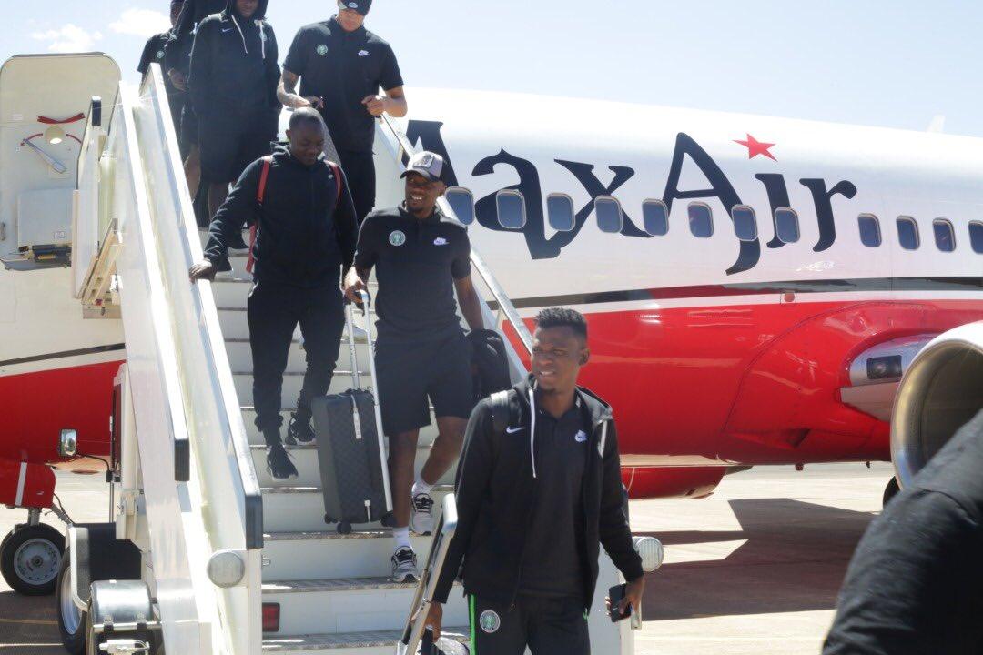 Cameroon 2020: Eagles arrive Lesotho