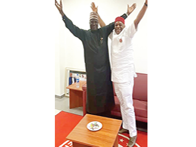 Kalu: Standing tall in victory