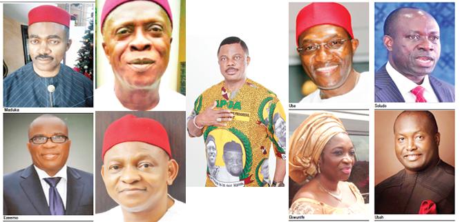 Men who want Obiano's job