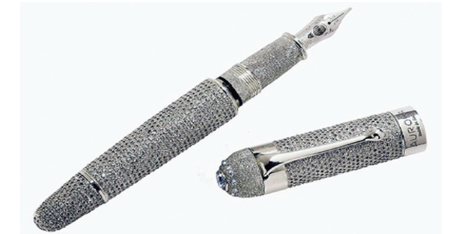 Most expensive pen costs $1,470,600