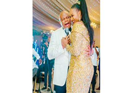 Pomp as Nnamdi Okwonkwo serenades wife on her golden jubilee