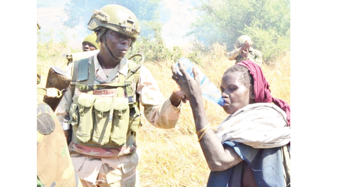 Insurgency: Troops rescue children, octogenarian