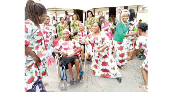 People living with disabilities excel on halleluiah day